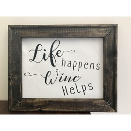 Design a Sign and Wine! August 11th at 6:30pm