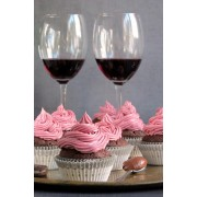 Mothers Day Cupcake and Wine Pairing